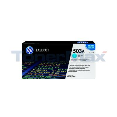 HP CLJ 3800 TONER CARTRIDGE CYAN